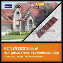 Blue Parka Kerala Colorful Stone Coated Steel Roofing Product Sun Golden Tiles
