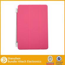 3 fold Smart Cover for ipad mini 2,for ipad mini leather case