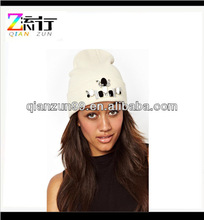 Custom New Design Beanie Hat For Women