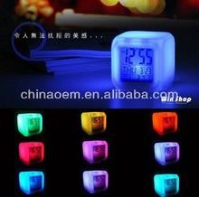Glowing Led Color Change Digital Alarm Clock colorful alarm clocks