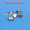 Contato elétrico, De contato bimetálico rebite, Interruptor de contato de prata