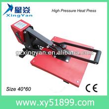 Hot sale t-shirt thermal transfer machine /dye sublimation t-shirt printing machine/heat press machine/