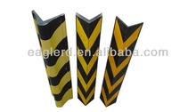 Heavy Duty Rubber Corner Guard/Reflective flexible rubber channel corner