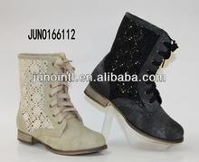 Hot Sale Fashion Ladies Boots hollow cut four-season shoes