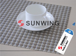 hot!!! nontoxic practical round silicone rubber table pad