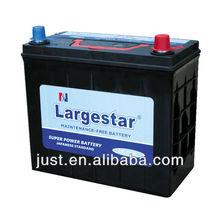 Maintenance free popular automotive battery