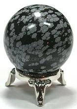 obsidiana copo de nieve de las esferas