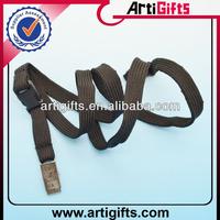 2013 Wholesale cheap blank alligator clips lanyard