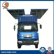 wing opening cargo box van body