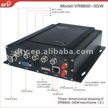 h 264 4 channel dvr with sim card, free cms software, VR8800-3GW