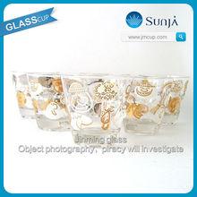 Delicate 30ml shot glassware fancy lasses barware serving entertaining short drinkware sexy shot glass