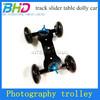 Desktop DSLR Camera Video Photography DV Rail Track Slider Table Dolly Car