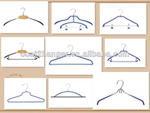 Black Metal Designer Baby Clothing Hangers/hanger