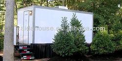 Aluminum trailer side panel, Portable Toilet, Movable trailer Toilet