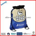 fashional custom designer durable wholesale shoe dust bags for promotional backpack