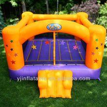 Kids birthday party blast zone superstar inflatable party moonwalk
