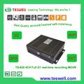 Intimista depois de- serviço de venda& suporte técnico! Ts-820 4ch real- tempo gravador de vídeo online, 3g, gps, usb backup