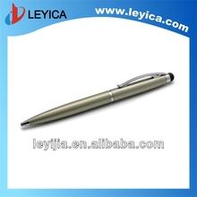 Metal pen laser engraved logo on pen clip - LY123
