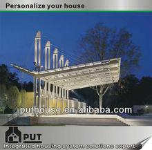 prefab structural steel stage