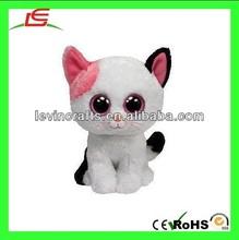LE h1874 muffin cat beanie boo - plush cat & kitten stuffed animal toy