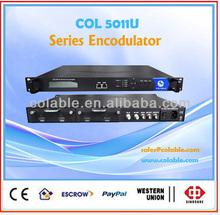 ISDB-T Modulator,Mpeg4/h.264 avc encoder video modulator COL5011U