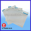 plastic plastic bags with cardboard bag/printed heat resistant bag with cardboard header/plastic bag made in china
