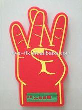 Colorful Hot design number one finger