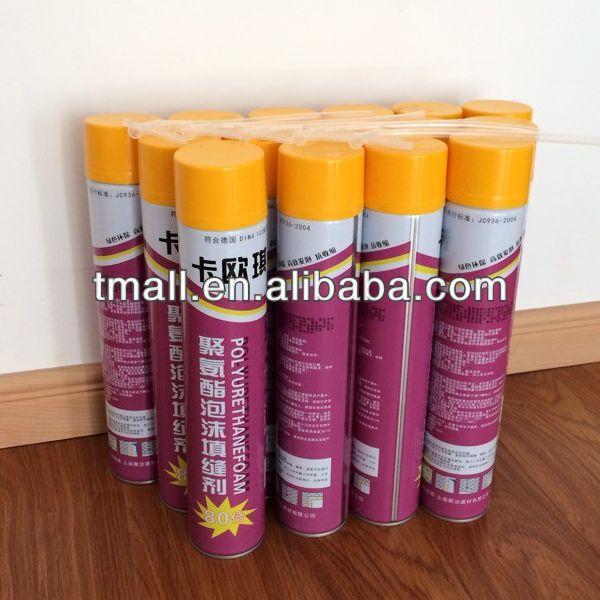 750ml PU Foam Sealant polyurethane roofing foam