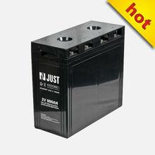 solar battery 2volt 800ah miniature power supply