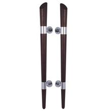 for apartment or villa door wooden pull handle