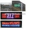 High brightness Double color Outdoor Moving led hoarding