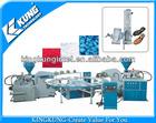 KK-HJ 6220A Double color PVC/TPR sole injection machine,shoe sole mould making machines