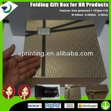 Elegant HR Brand Paper Gift Box Printing