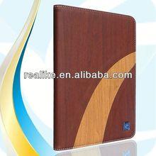 Eco friendly wooden bamboo case for iPad mini 2