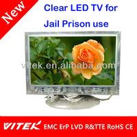 13 inch Jail Clear Transparent Prison TV