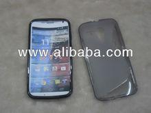 For Moto G XT1028 Case, moto x S-TPU Line Soft Gel Back Case For Moto G XT1032 DVX