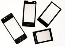 Plastic mobile phone panel sheet