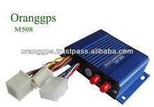 Oranggps anti-theft Gps car tracker M508 model with backup long battery life and free google software (M508)