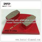 Metal diamond grinding tools for concrete