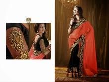 bollywood latest designer wedding beautiful sari new function wear saree