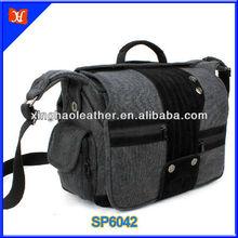 Best Selling Vintage Canvas Camera Bag, Retro Fahion DSLR Camera Bag Large Capacity Shoulder Backpack
