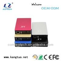 chic design 2.5 inch hard drive case wifi/nas case