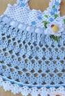 Baby crochet dress