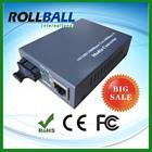 Low cost fiber optic modem rj45