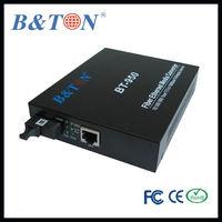OEM mamufaturer of adaptive 10/100/1000m fiber media converter rj45