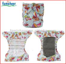 Famicheer One Size Diaper Shell Prefolds Regular Inserts