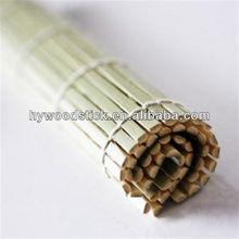 China supplier eco-friendly sushi bamboo rolling mat tesco
