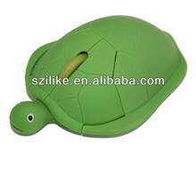 3D optical tortoise shaped computer kids mouse