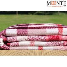 100% Polyester Throw Blanket Plain White Baby