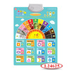 Paper English Wall Chart For Baby Learning L24625